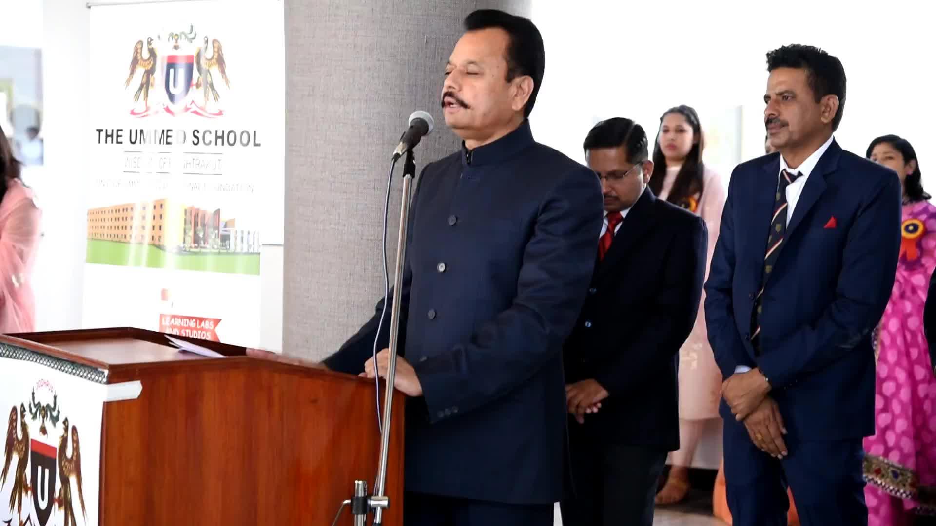 The Ummed School - chairman message