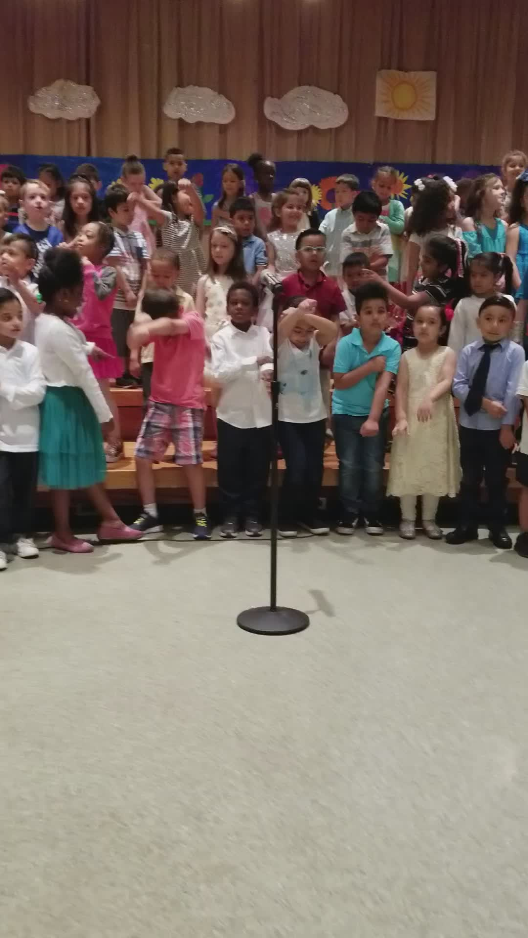 Spring Elementary Performance
