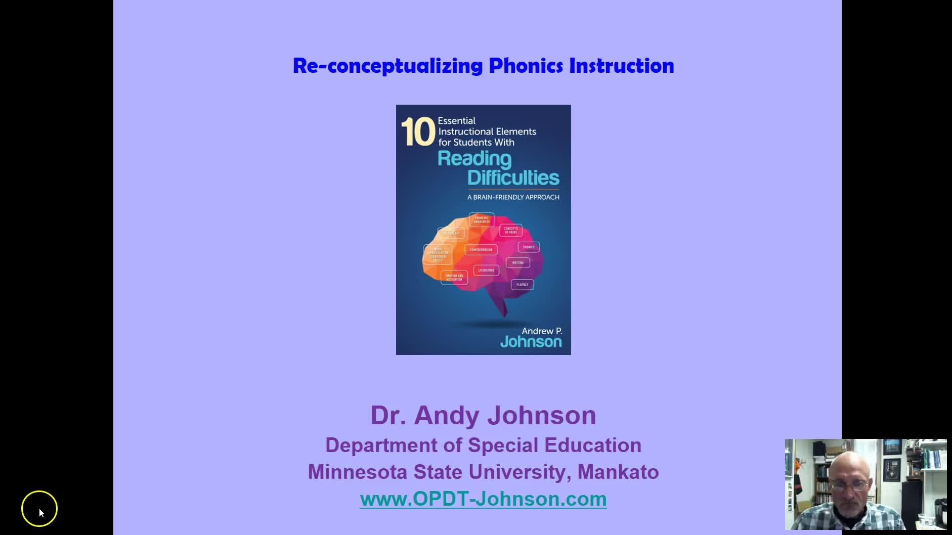 Reconceptualizing Phonics Instruction