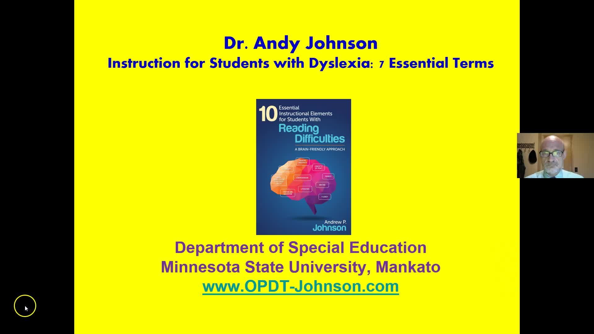 TEACHING STUDENTS WITH DYSLEXIA: 7 ESSENTIAL TERMS
