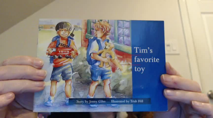 Tops the Monkey Presents…Short Read Aloud (Pre-K – 1st) Tim's Favorite Toy