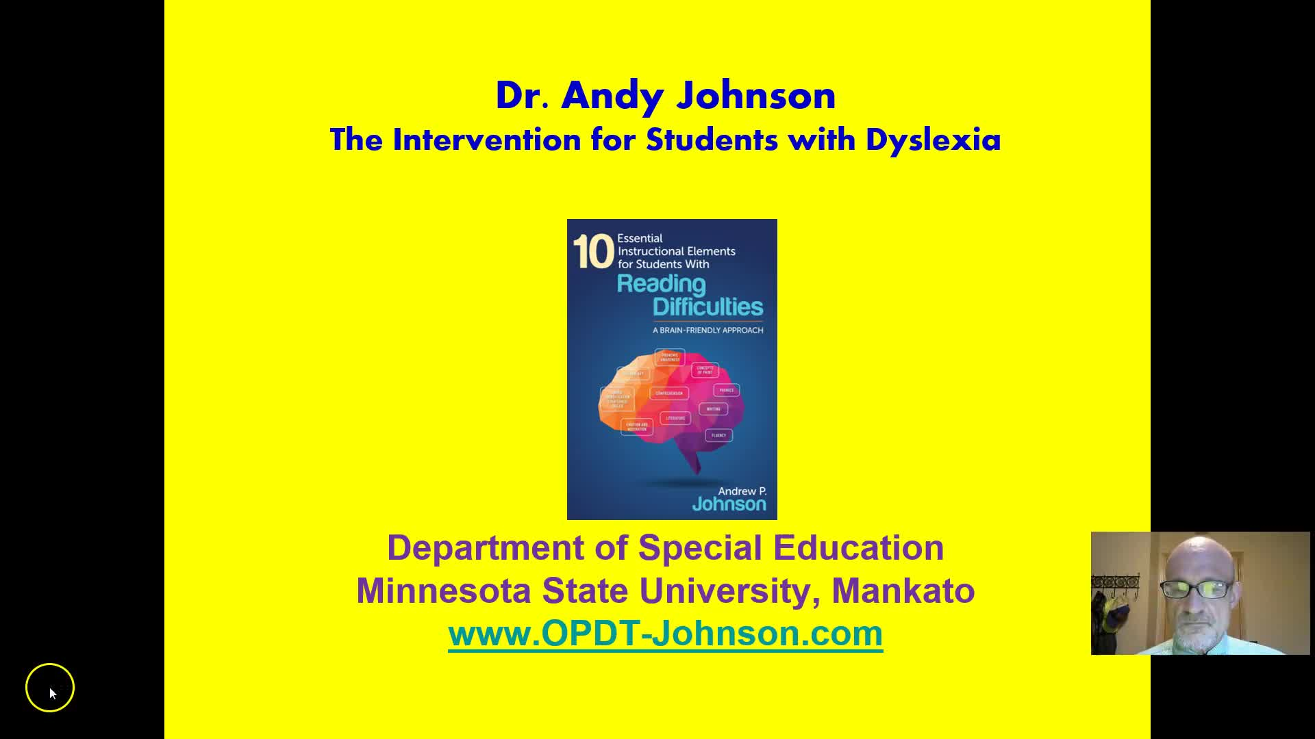 DYSLEXIA: THE INTERVENTION