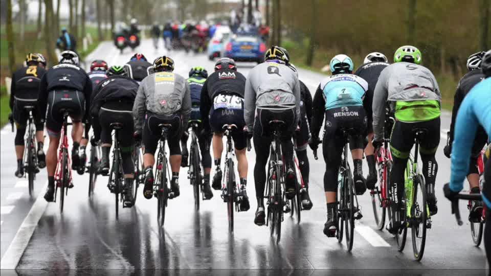 I ventagli nel ciclismo