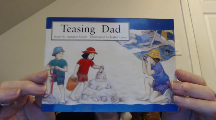 Tops the Monkey Presents…Short Read Aloud (Pre-K – 1st) Teasing Dad
