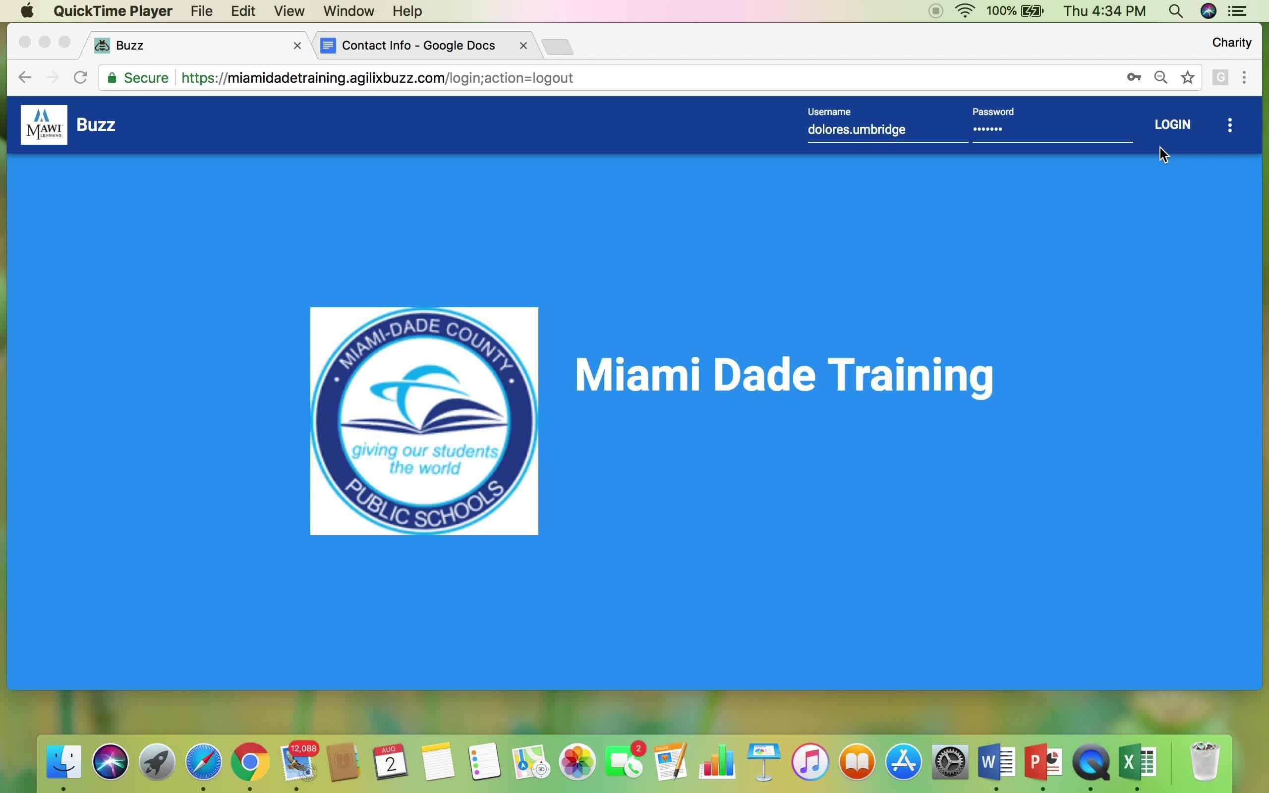 LMS Buzz Training