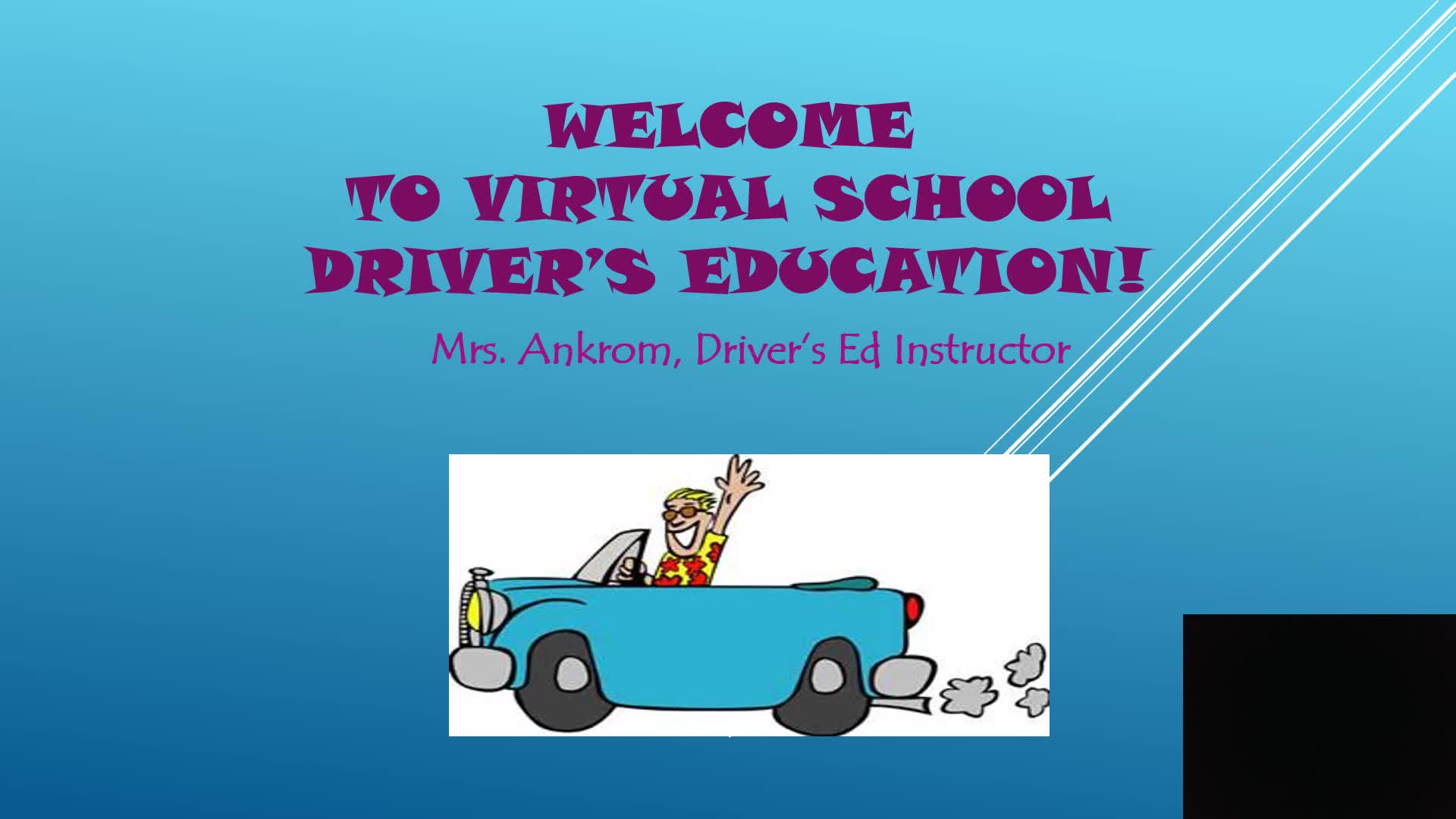 Dr. Ed Welcome Video