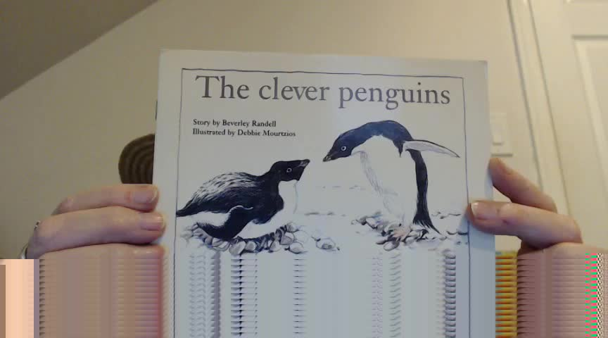 Tops the Monkey Presents…Short Read Aloud (Pk-1) The Clever Penguins