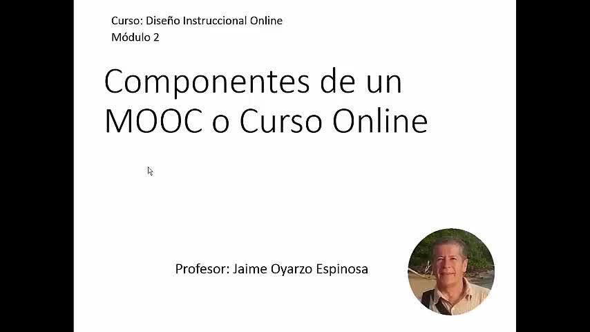 Componentes de un MOOC