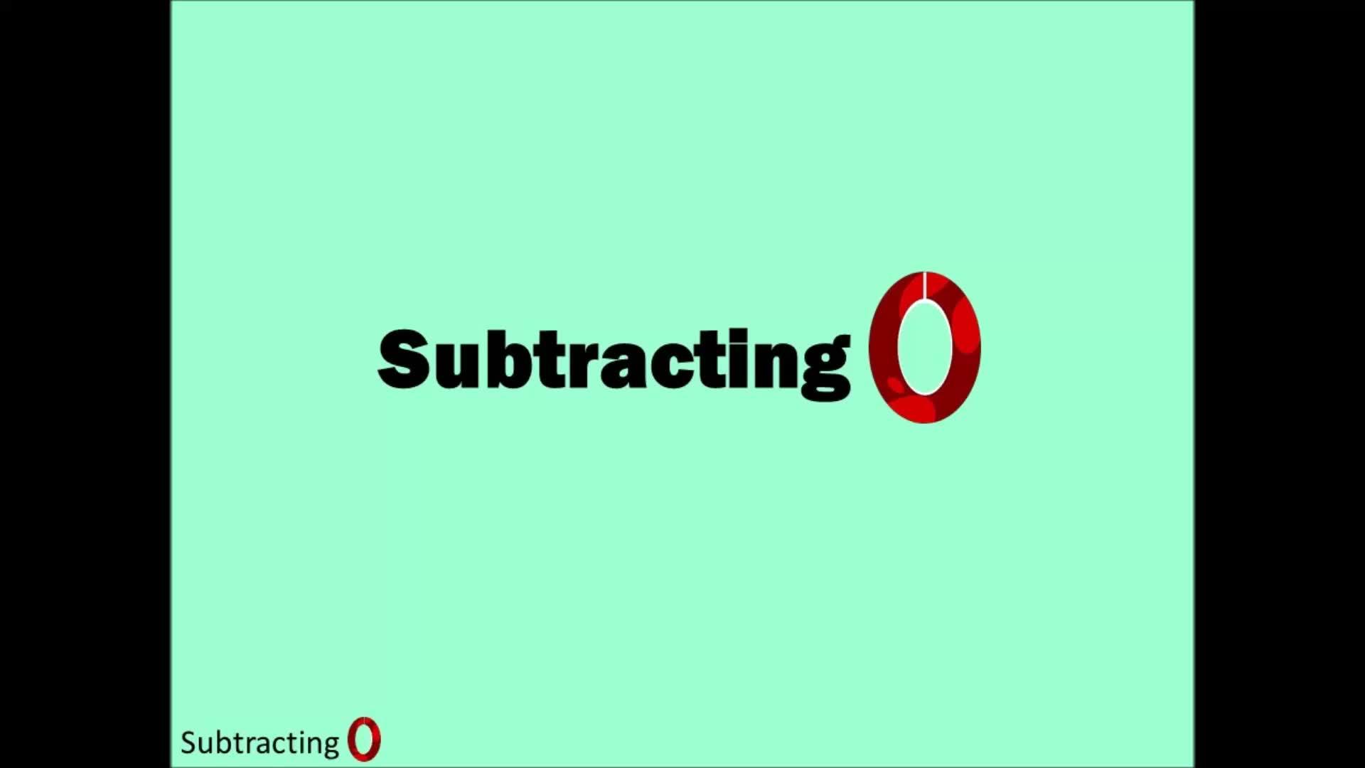 Adding 0