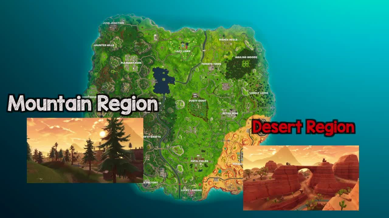 Five Themes of Geography - Fortnite Edition