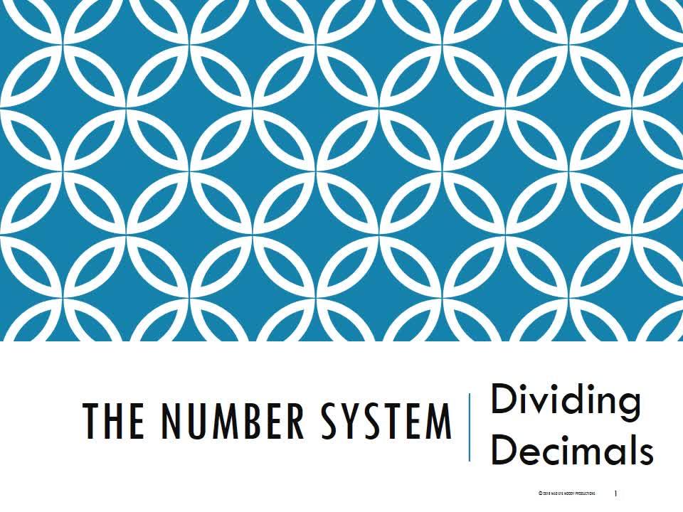 Dividing Decimals 1819