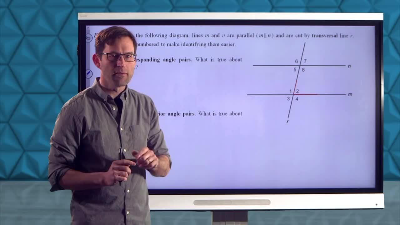 Common Core Geometry Unit 3 Lesson 6 Parallel Line Properties Review
