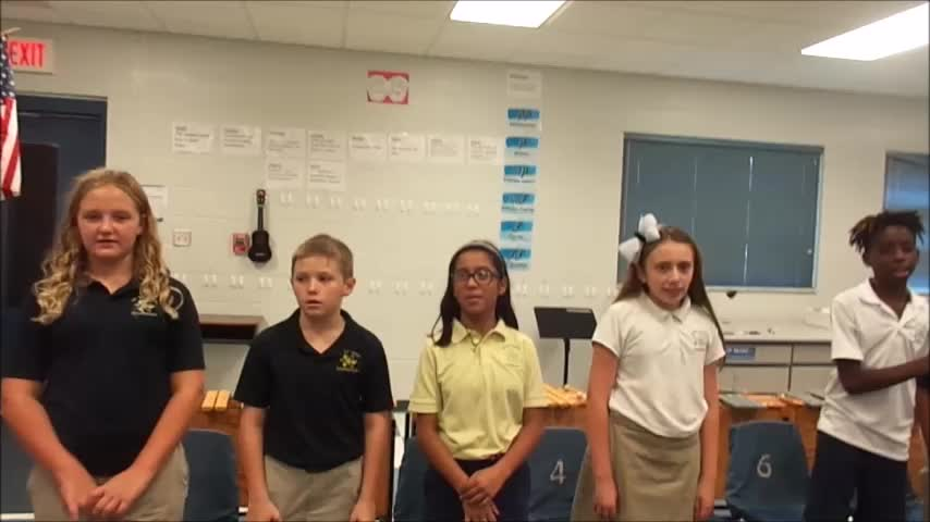 """18-19 Ms. Hank's 5th grade class """"Out Goes the Rat"""" by Kriske/DeLelles"""