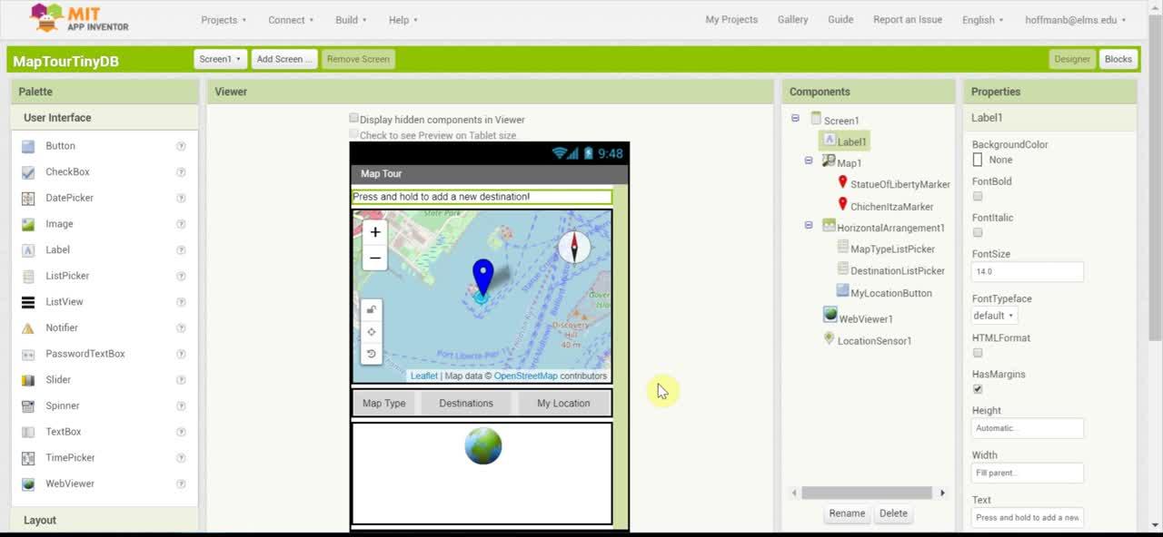 Mobile CSP Map Tour TinyDB (Revised)