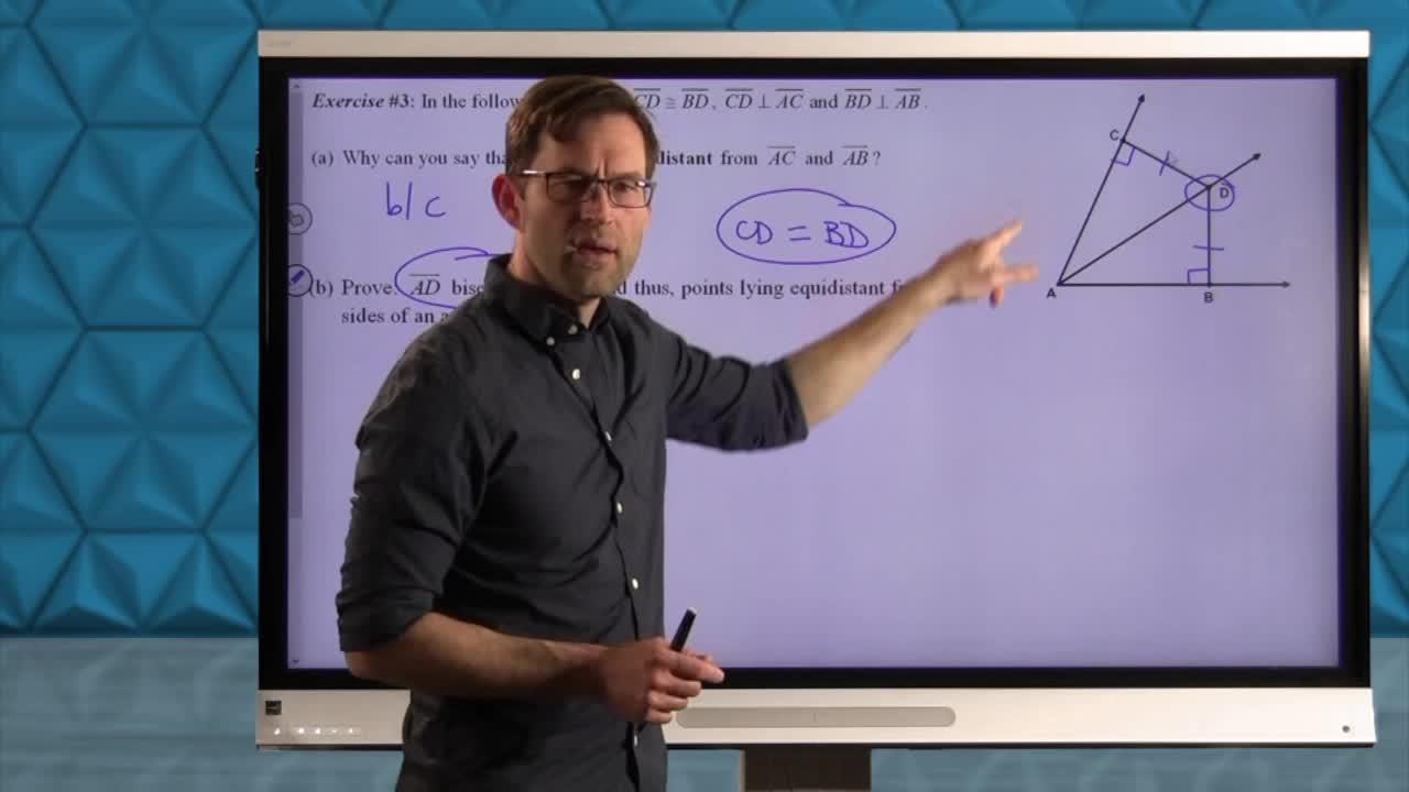 Common Core Geometry Unit 3 Lesson 9 Hypotenuse-Leg