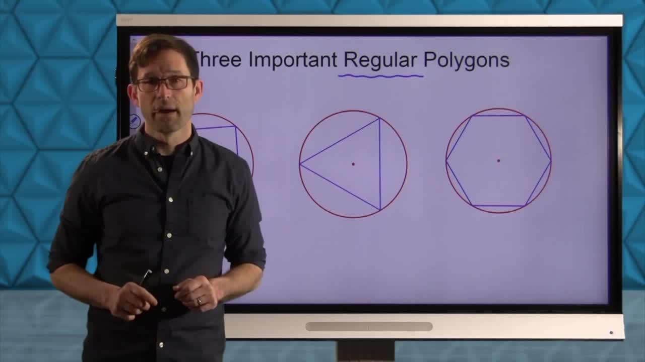 Common Core Geometry Unit 4 Lesson 7 Inscribing Regular Polygons