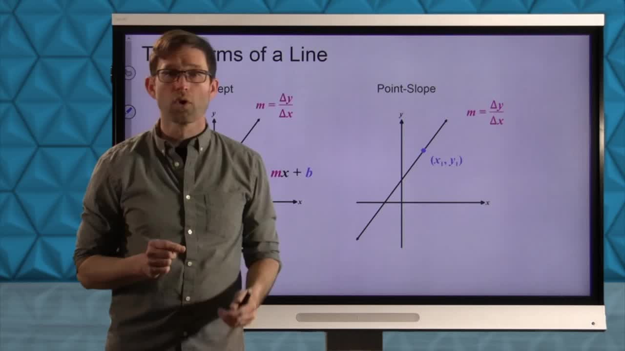 Common Core Geometry Unit 5 Lesson 4 The Point-Slope Form of a Line