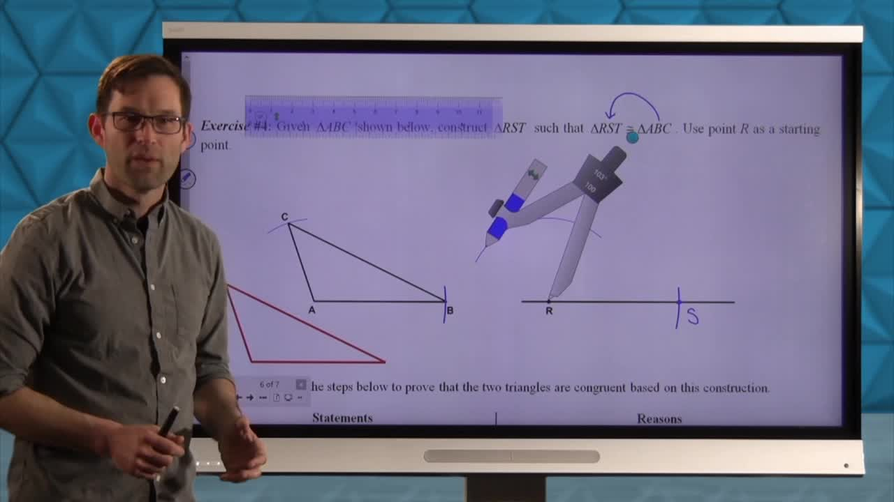 Common Core Geometry Unit 4 Lesson 1 Introduction to Construction