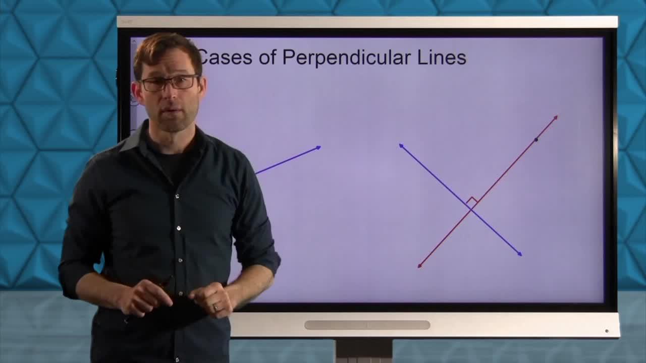 Common Core Geometry Unit 4 Lesson 3 Constructing Perpendicular Lines