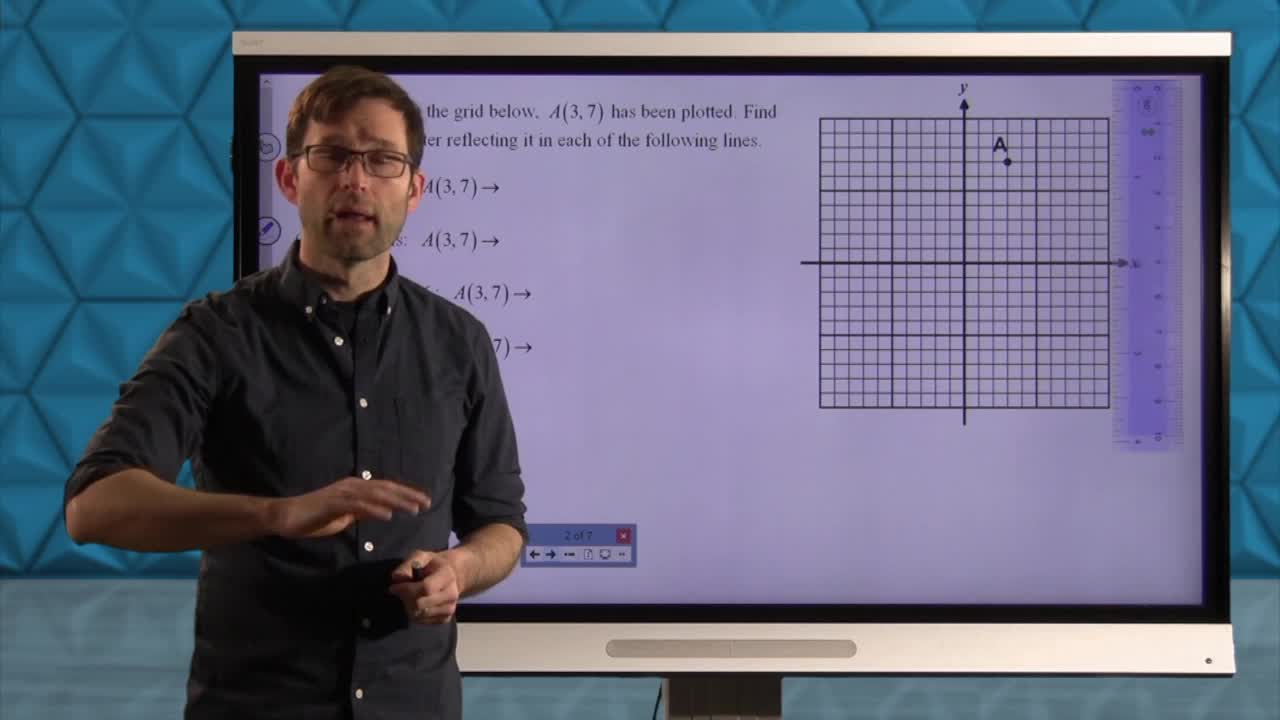 Common Core Geometry Unit 5 Lesson 10 Reflections in the Coordinate Plane