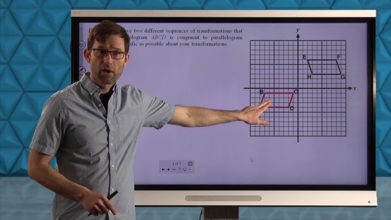 Common Core Geometry Unit 5 Lesson 11 Translations in the Coordinate Plane