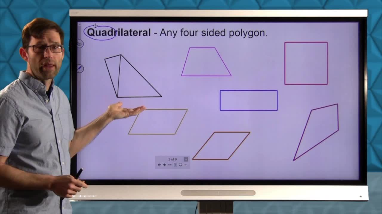 Common Core Geometry Unit 6 Lesson 1 Trapezoids and Parallelograms