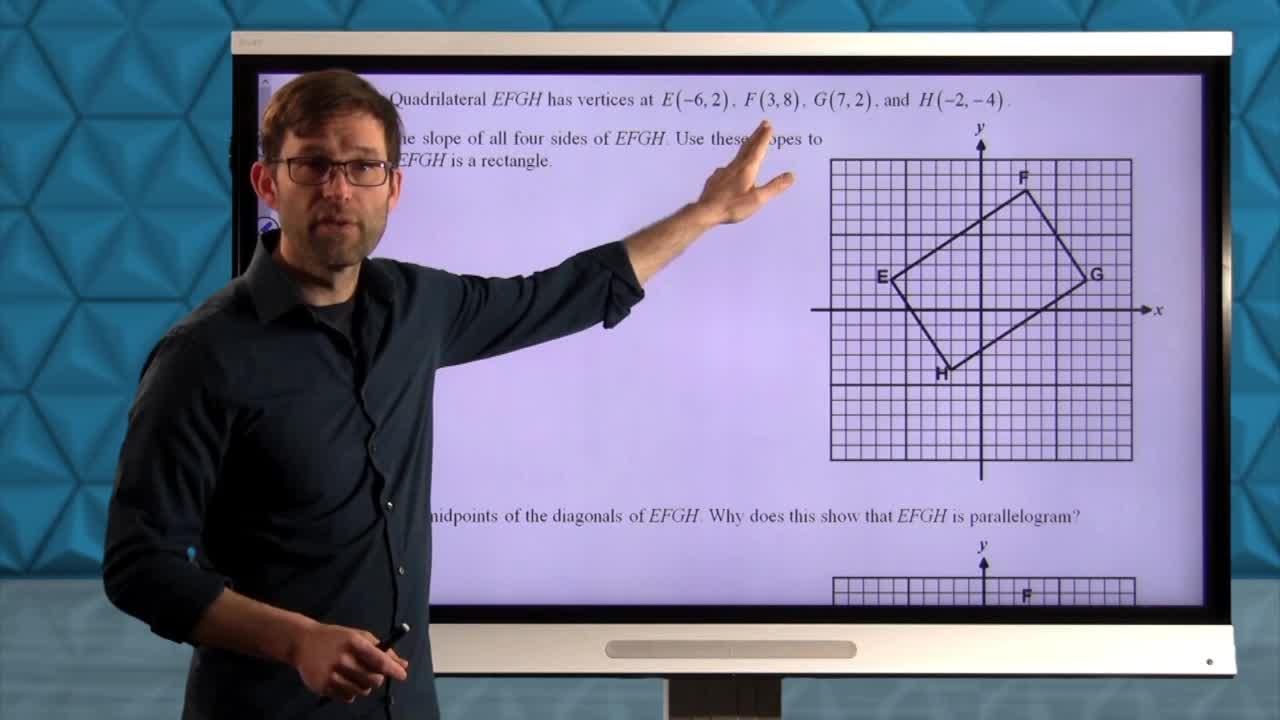 Common Core Geometry Unit 6 Lesson 5 Rectangles