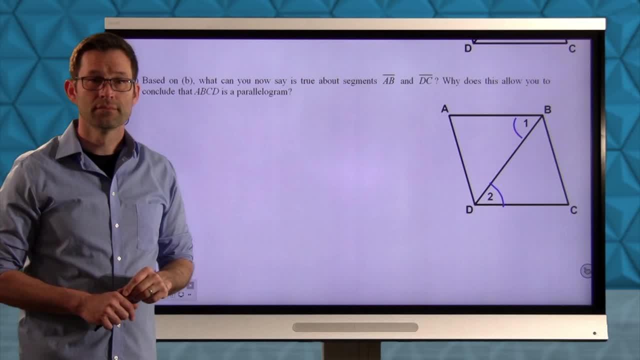 Common Core Geometry Unit 6 Lesson 6 The Rhombus