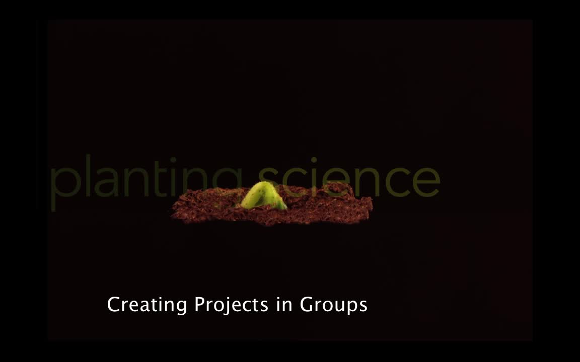 PlantingScience: How to Create Projects