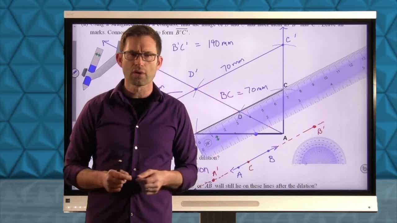Common Core Geometry Unit 7 Lesson 1 Dilations