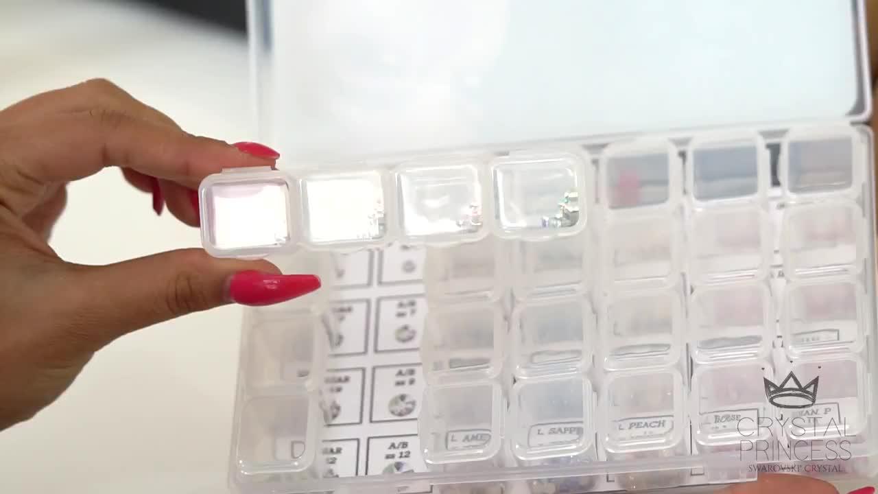 Swarovski Crystal Nail Art Tutorial