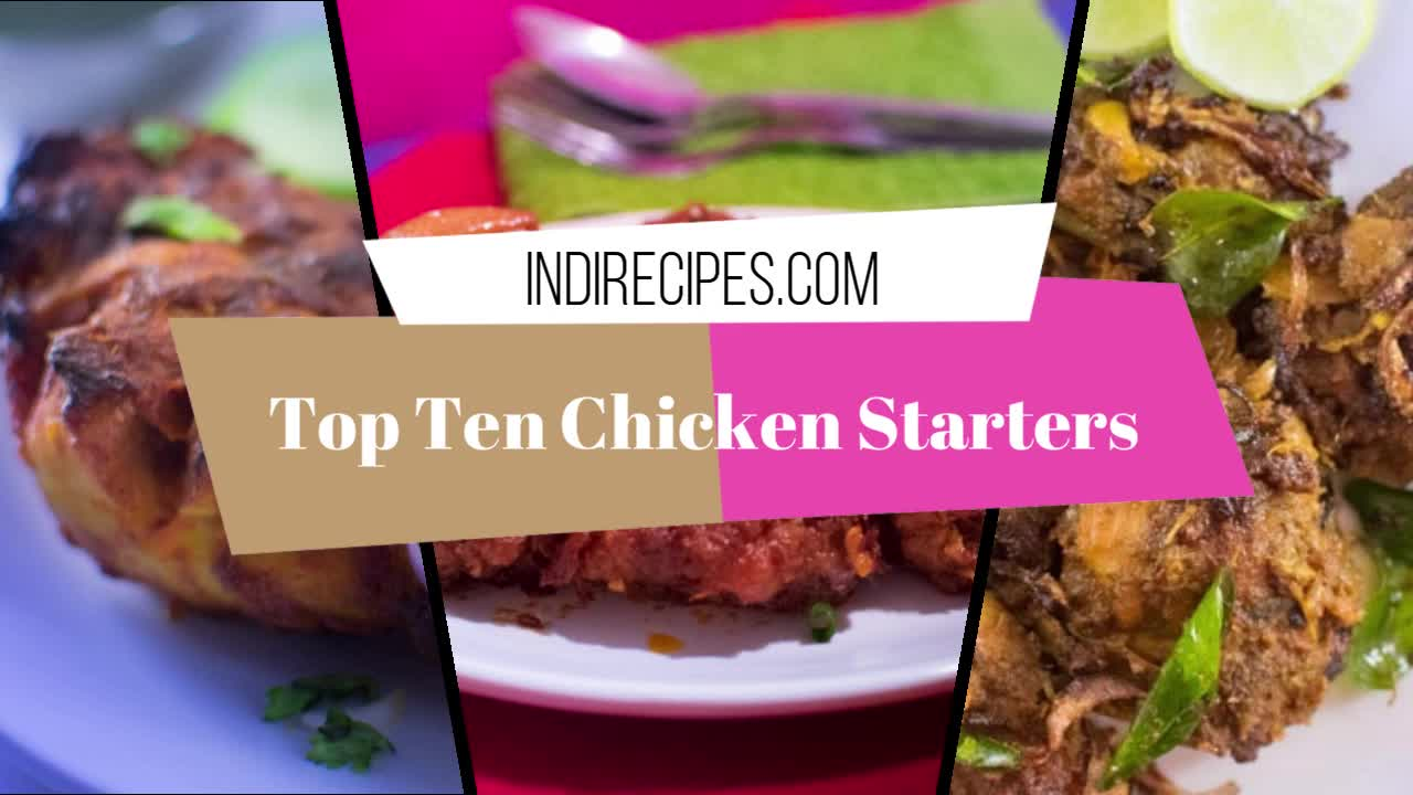 Top ten chicken starters