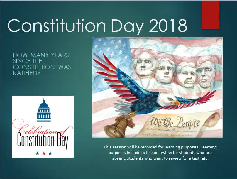 Constitution Day 09.17.2018