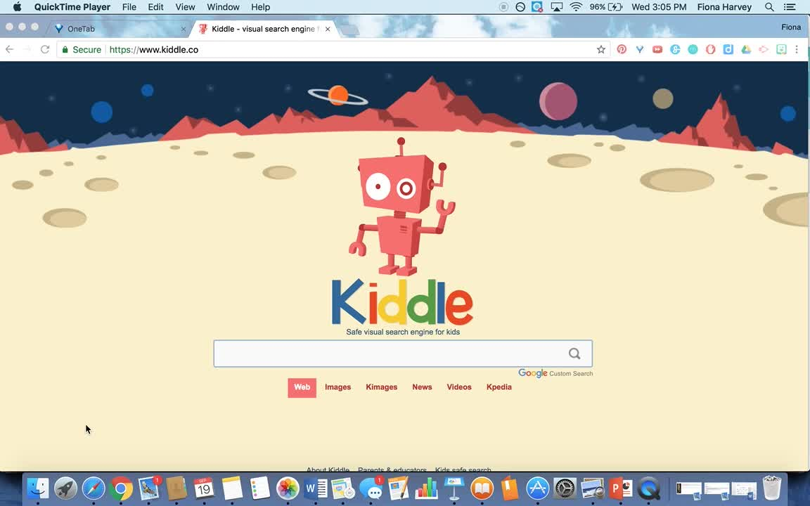 How to use Kiddle - searching for First Fleet resources