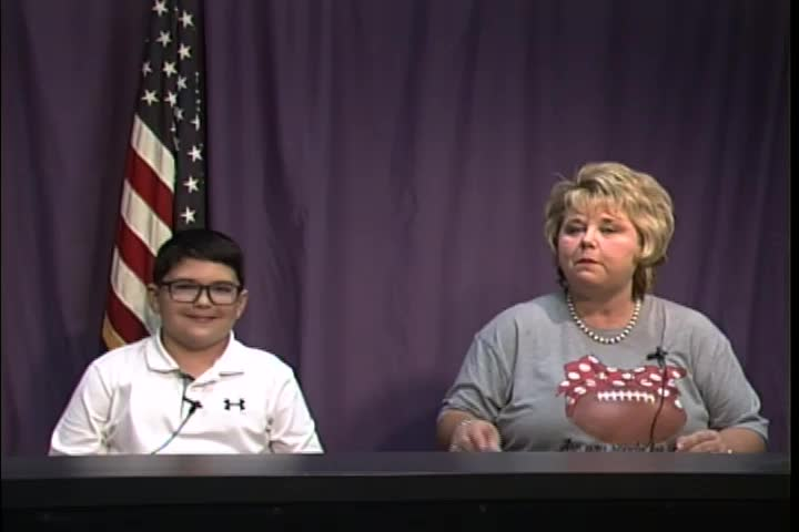 Northeast Elementary TNT News Broadcast September 21, 2018