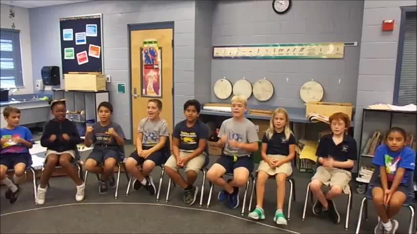 "18-19 Ms. Montigny's 3rd grade class ""Remember Me"" by Kriske/DeLelles"