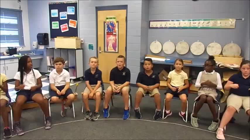 "18-19 Ms. Gebhardt's 3rd grade class ""Remember Me"" by Kriske/DeLelles"