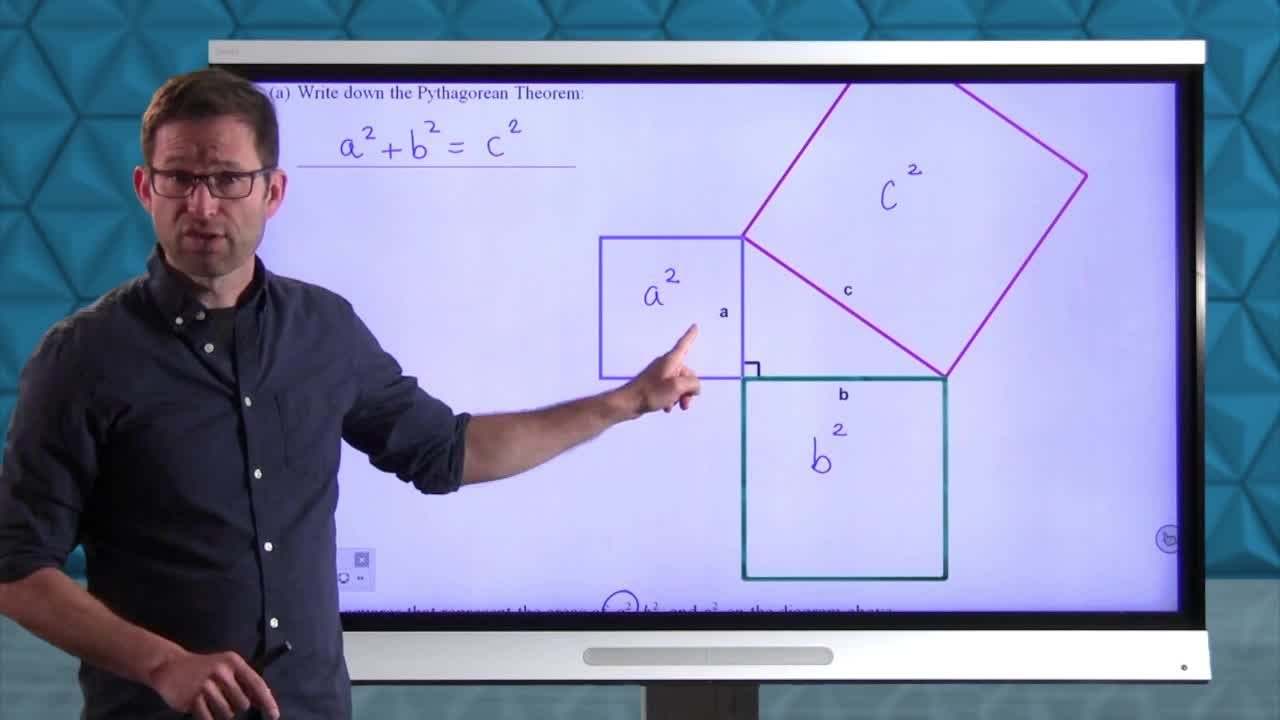 Common Core Geometry Unit 7 Lesson 12 Proving the Pythagorean Theorem