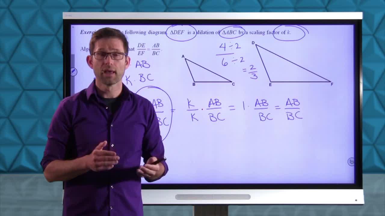 Common Core Geometry Unit 8 Lesson 1 Similar Right Triangles