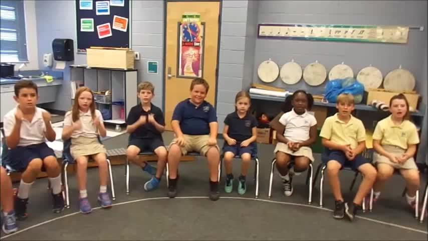 "18-19 Mr. Bishop's 3rd grade class ""Remember Me"" by Kriske/DeLelles"