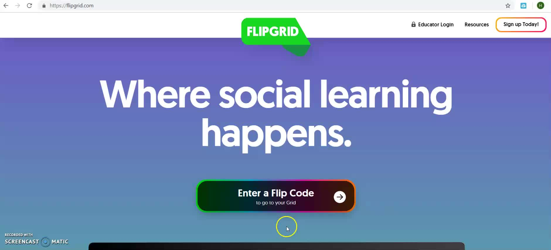 How to use  Flipgrid