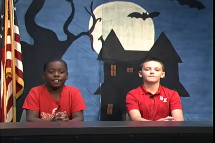 Northeast Elementary TNT News Broadcast October 12, 2018