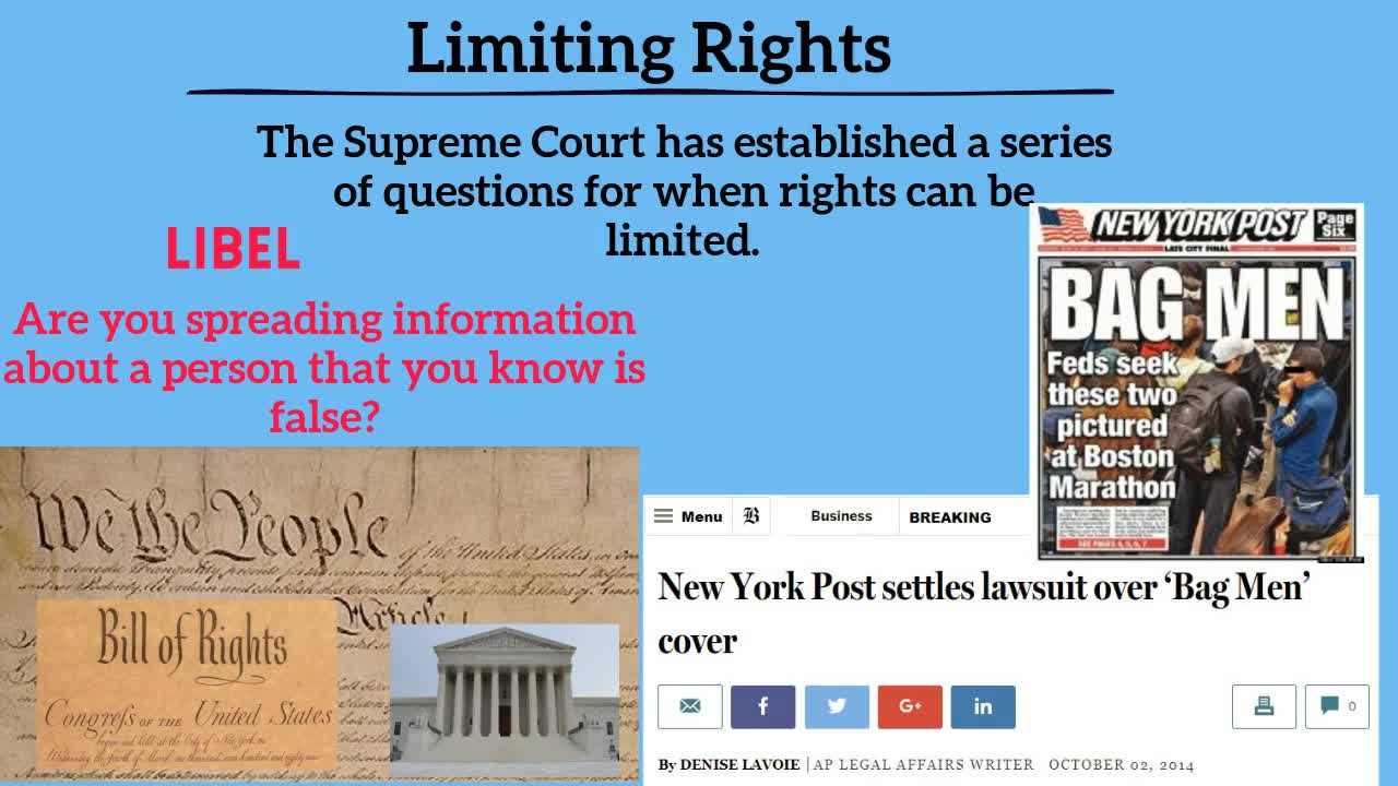 2.5 Limiting Rights
