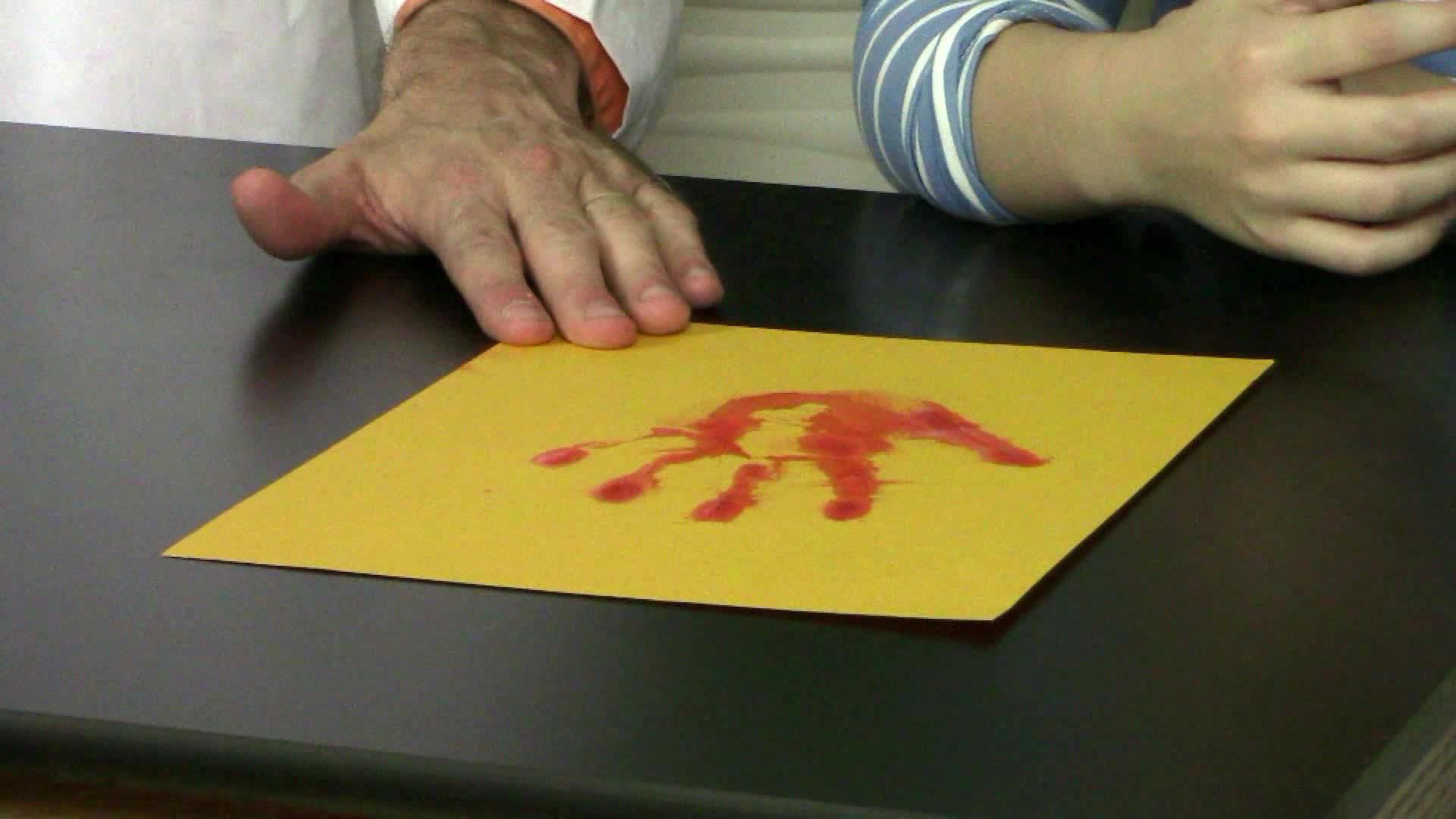 Bleeding Paper