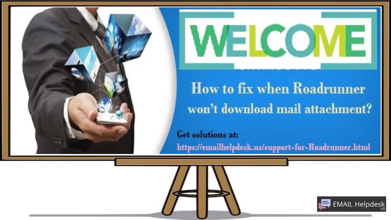 Fix Roadrunner Mail Attachment Issue via Roadrunner Customer Service (Email Help Desk)