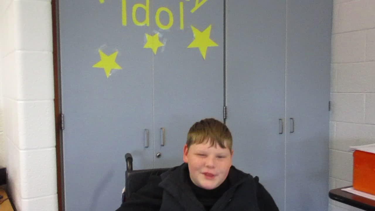 Fluency Idol 10-12-18 Gavin