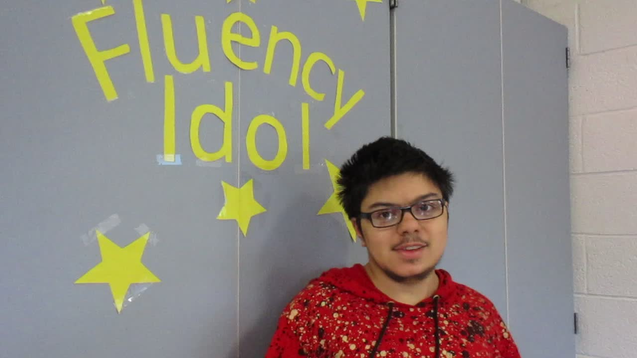 Fluency Idol 10-12-18 Luis