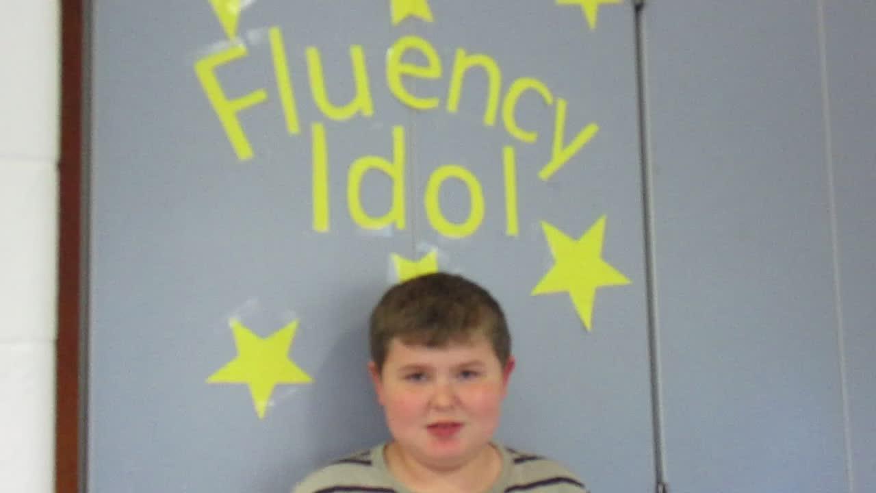 Fluency Idol 10-12-18 Tyler