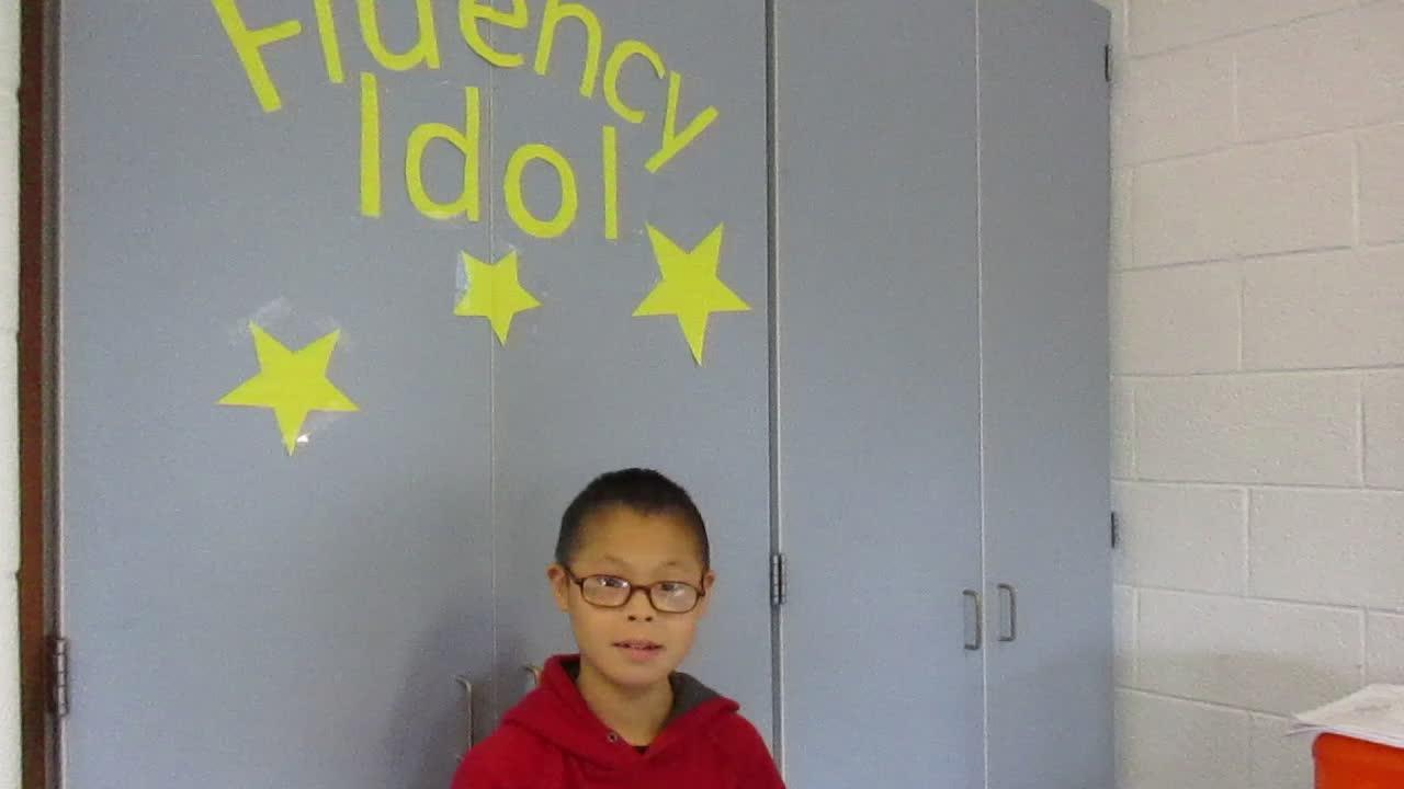 Fluency Idol 10-12-18 Zi