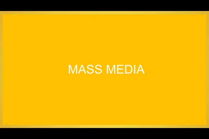 Orginal-1. Mass Media as a Social Institution
